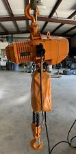 New 2 Ton Electric Chain Hoist 4000 Lb With 13 Ft Chain 2 Ton 230v 3ph Warranty