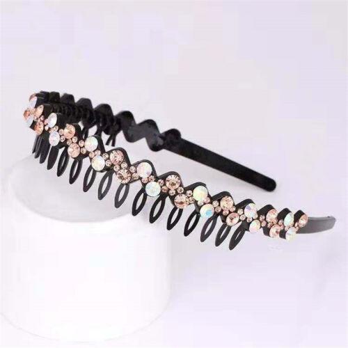 Fashion Women/'s Crystal Rhinestone Headband Hairband Hair Hoop Hair Accessories