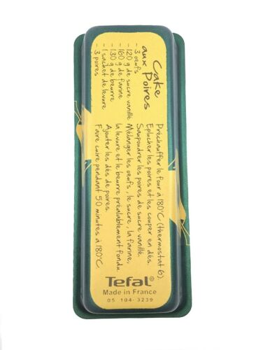 Tefal backfrom con peras pastel receta pastel 26x10cm