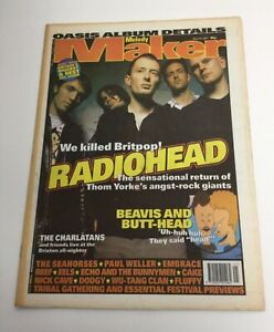 MELODY MAKER Magazine - 24 May 1997- OASIS Album Details - Radiohead Adverts