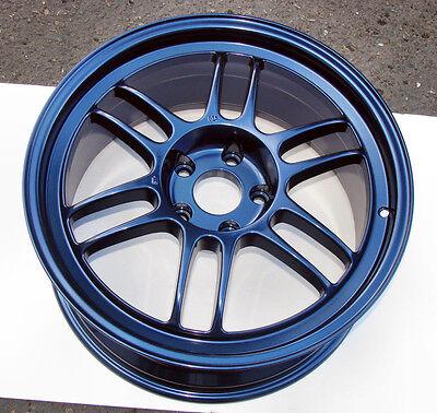 Midnight Navy Blue Metallic Powder Coating Paint - New 1LB