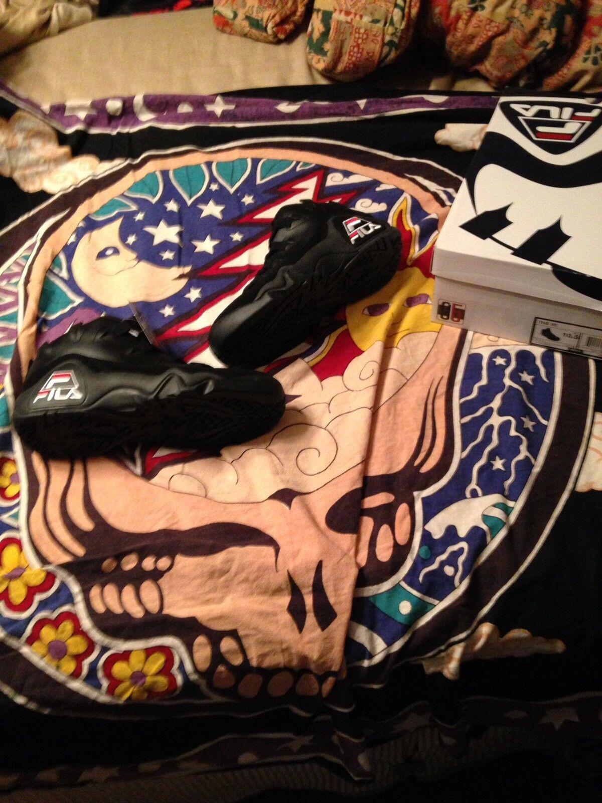 Fila 95 Grant Hill Men's Shoes 10.5 Black
