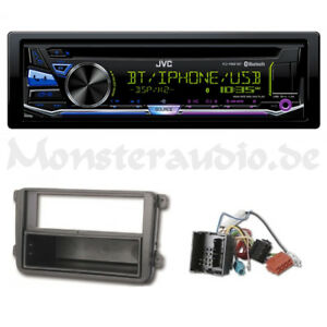 jvc bluetooth autoradio usb mp3 radio f r vw caddy golf 5. Black Bedroom Furniture Sets. Home Design Ideas
