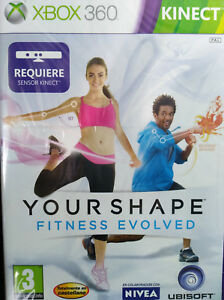 Your Shape Fitness Evolved Requiere Kinect Juego Xbox 360 Pal