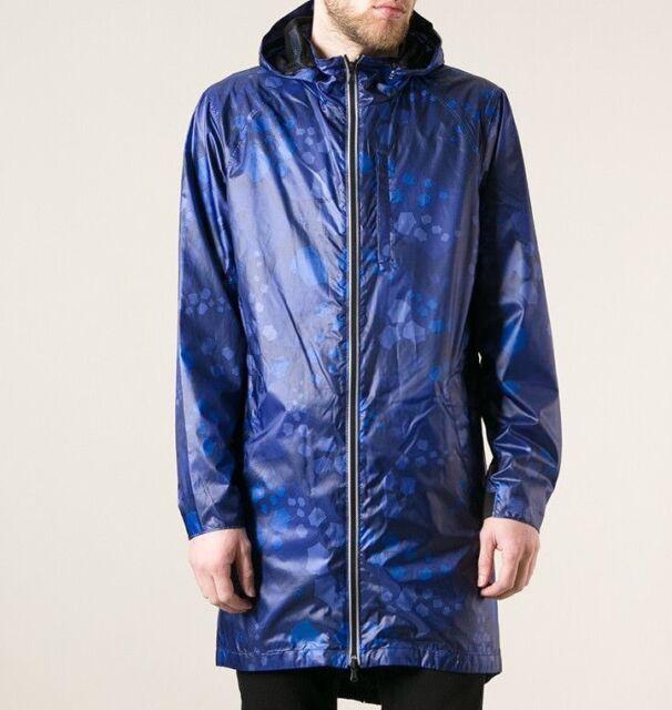 d1bbb7abaf3 Victorinox SzXL Summit Printed Lightweight Parka Raincoat Blue Multi