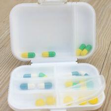 8 Fächer Pillendose für 7 Tage Tablettendose Tablettenbox Medikamentenbox