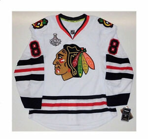 best service a8b06 6f04c Details about PATRICK KANE CHICAGO BLACKHAWKS 2013 STANLEY CUP REEBOK EDGE  AUTHENTIC JERSEY