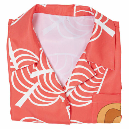 Details about  /Game Animal Crossing Isabelle Shirt Cosplay Costume Women Short Sleeve Shirt Top