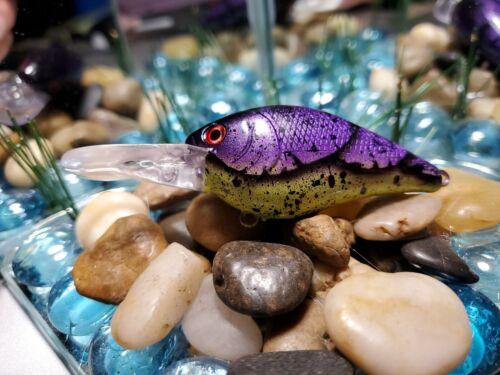 #170 Purple chart splatter craw LUCKY CRAFT LC 2.0 D-10 KO