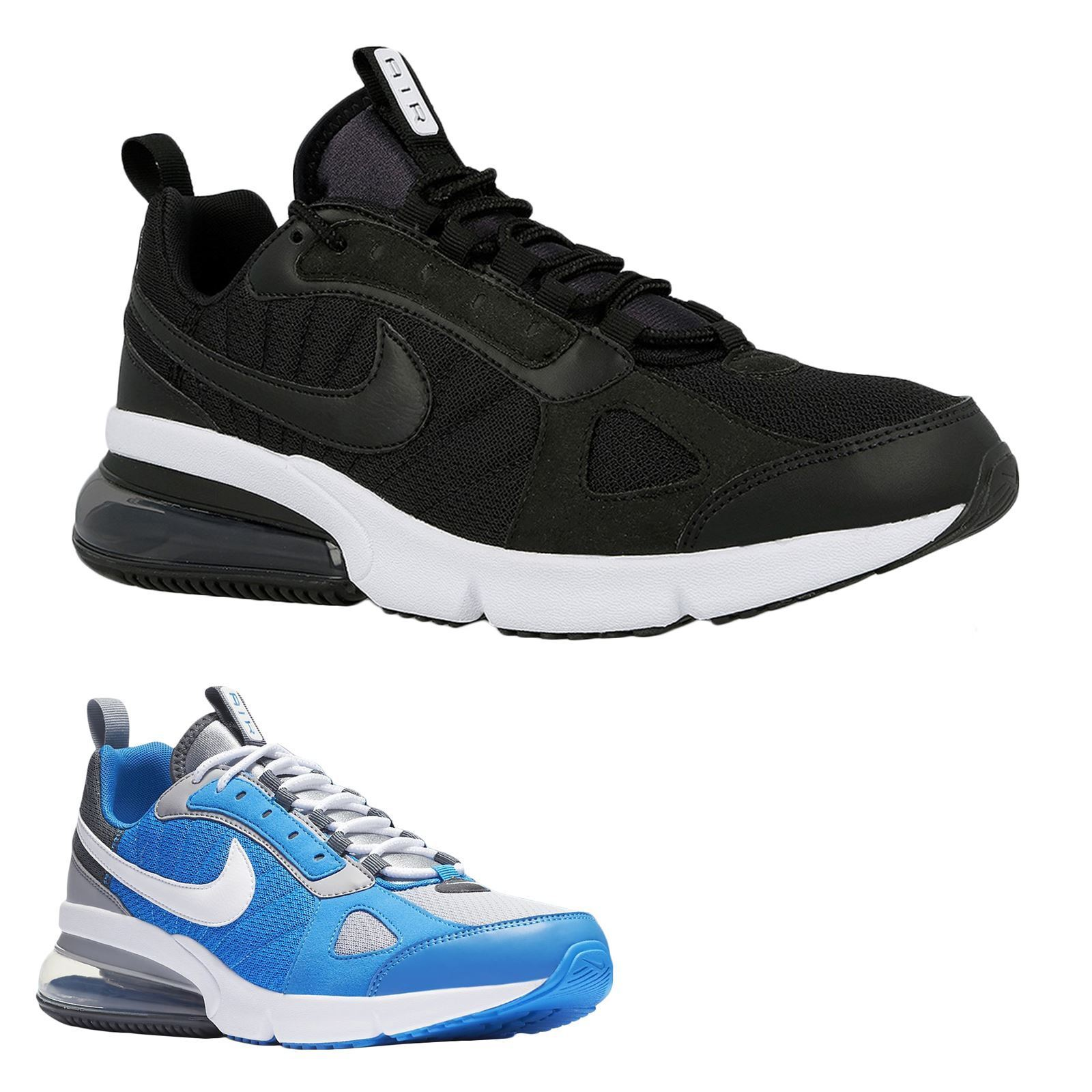new products 20a0b 46e8c Nike Air Max 270 Futura Mens Ao1569-001 Black White Running Shoes Size 8  for sale online   eBay