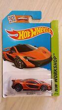 Hotwheels 2013 McLaren P1 HW workshop
