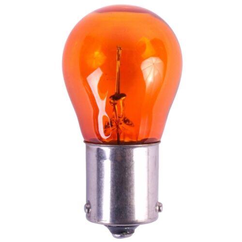 2 x 581 12V PY21W Amber Orange Indicator Signal Off Set Pins Car Bulbs BAU15S