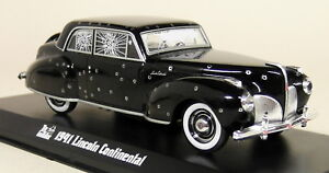 Greenlight-1-43-Scale-The-Godfather-1941-Lincoln-Continental-Diecast-Model-Car