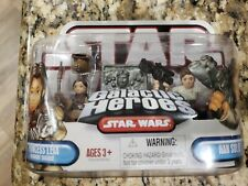 Star Wars Galactic Heroes Princess Leia in Boushh Disguise /& Han Solo Carbonite