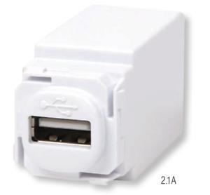 10 X LUMEX LED LIGHTING Hi-Power™ USB Charger Module USB MECHANISM 2.1A WHITE