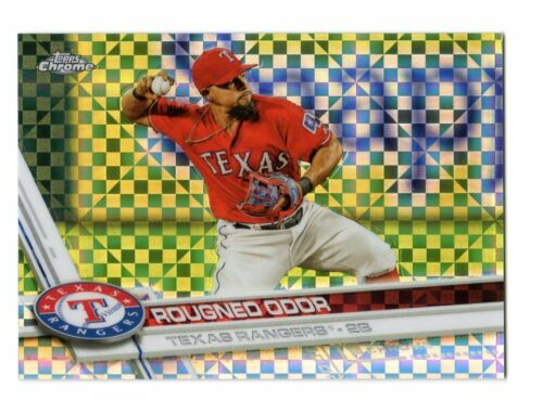 2017 TOPPS CHROME X-FRACTOR PARALLEL SINGLES U PICK COMPLETE YOUR SET
