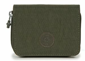 Kipling-Basic-Eyes-wide-open-Money-Power-Medium-wallet-portafoglio-Jaded-GREEN-C