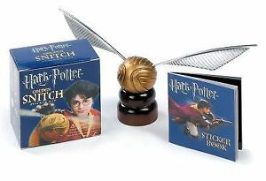 Miniature Editions: Harry Potter Golden Snitch Sticker Kit Kit (2006,  Paperback)