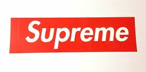 NEW-SUPREME-Official-Sticker-JAPAN-import-Japanese