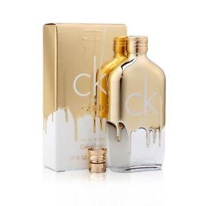 Ck Calvin Klein One Gold Eau De Toilette 50ml Unisex Spray Ebay