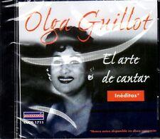 "OLGA GUILLOT - ""EL ARTE DE CANTAR"" (CANCIONES INEDITAS) - CD"