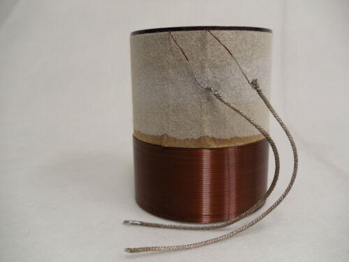 """2.5/"""" Single 4 Ohm Voice Coil Subwoofer Speaker Parts  VC1642"""