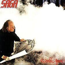 "SAGA ""WORLDS APART"" CD NEW+"