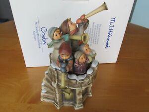 Collectable-Hummel-1999-Fanfare-Final-Century-Figurine-with-Original-Box