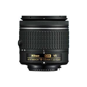 Nikon 18-55mm f/3.5-5.6G VR AF-P DX NIKKOR Zoom Lens