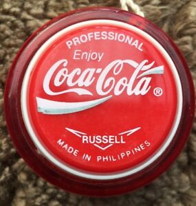 Coca-Cola-Russell-Professional-Yoyo-Yo-Yo-Coca-Cola-Yo-Yo-New-From-Box