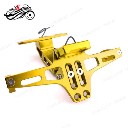 Motorcycle Universal CNC Fender Eliminator License Plate Bracket For Kawasaki