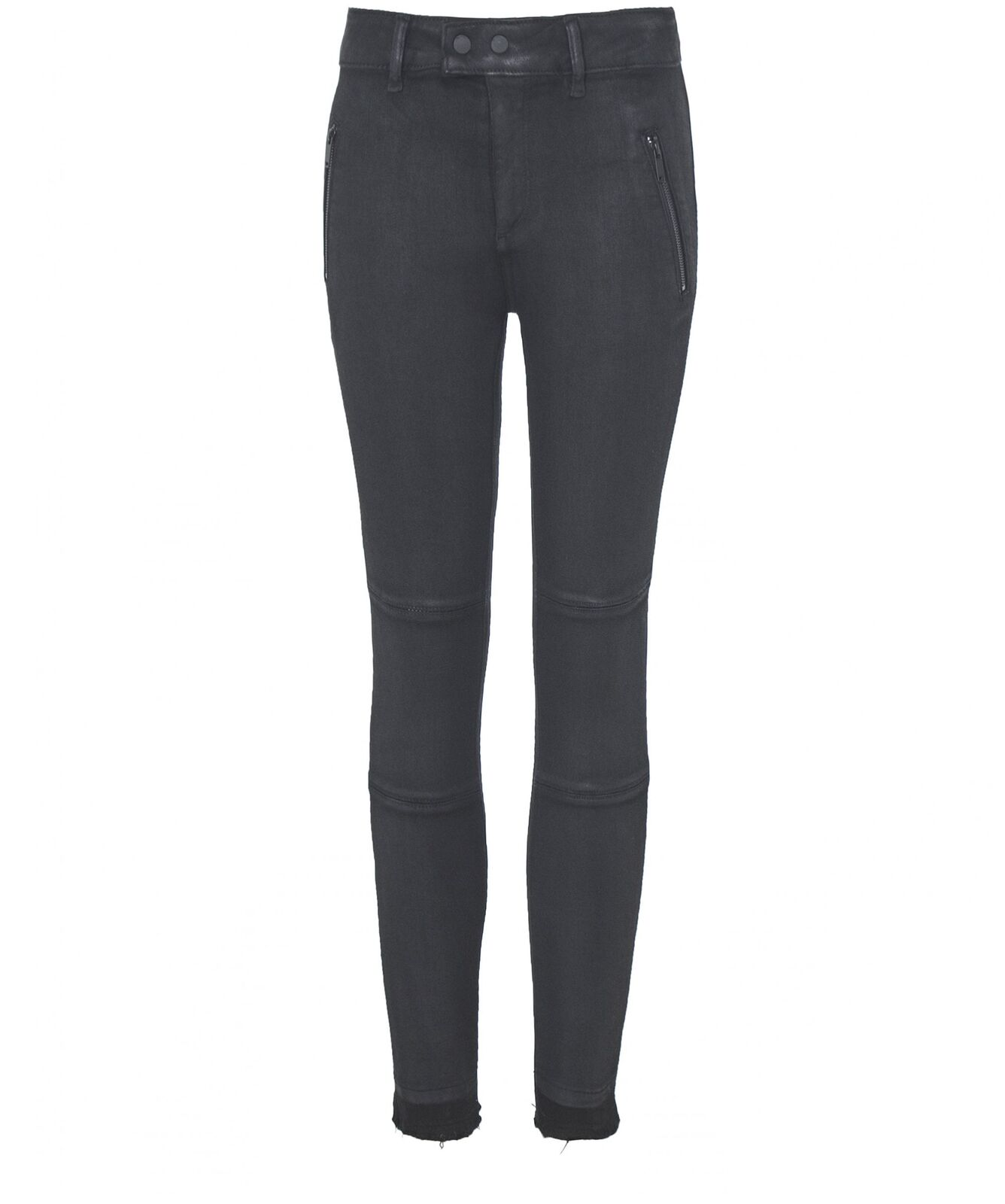 DL1961 Women's Florence Coated Zip Skinny Jeans