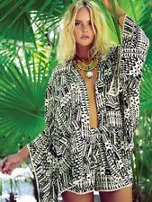 NWT $145  L Space Ivory Coast Kimono Swim Cover One Sz -GORGEOUS!