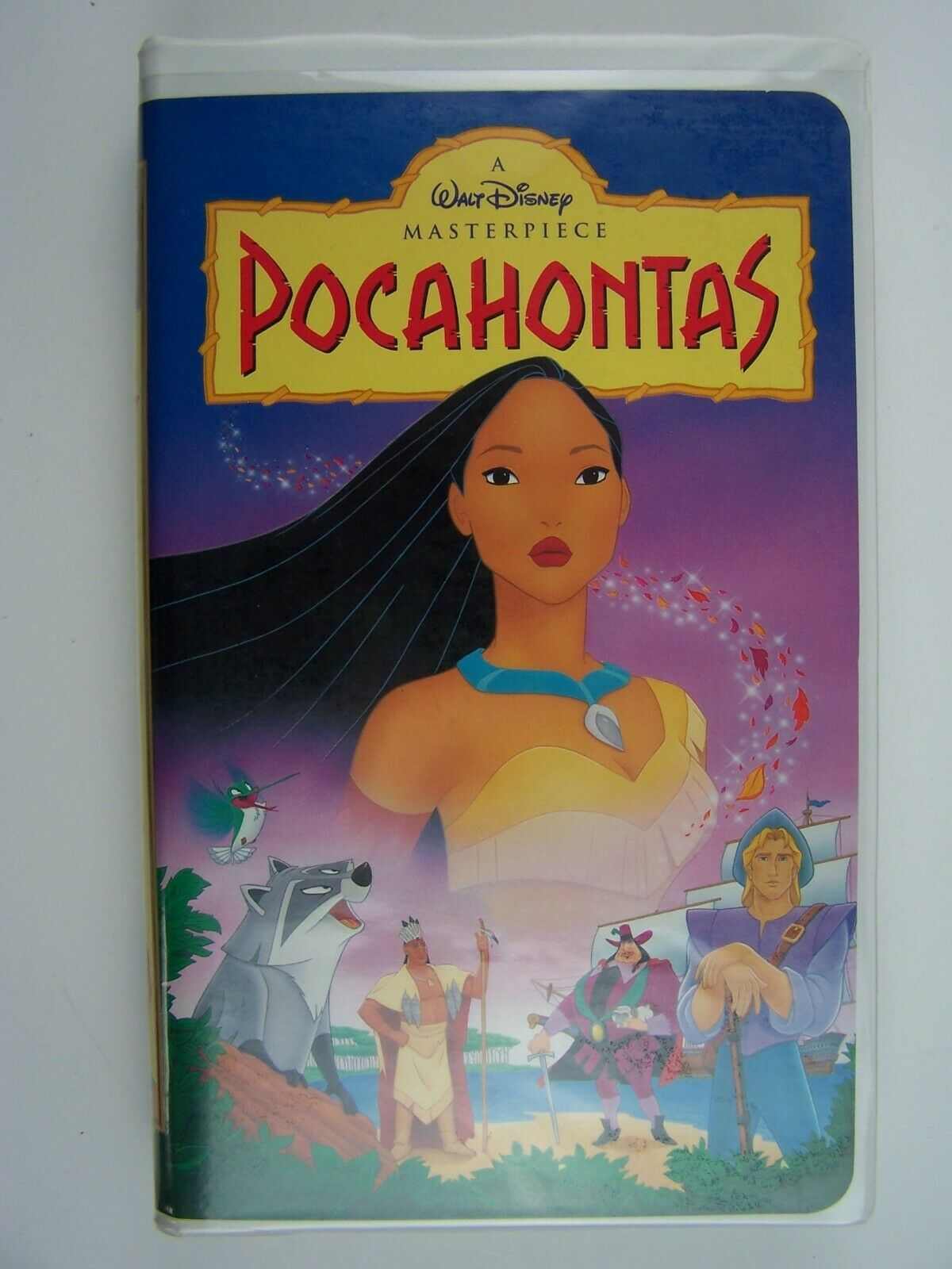 Walt Disney's Masterpiece Pocahontas VHS Video Tape 786