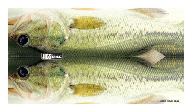 New JigSkinz Real Life Mackerel Mixed Pack Small Med Lrg XL 4pk JZRLMK-MP4