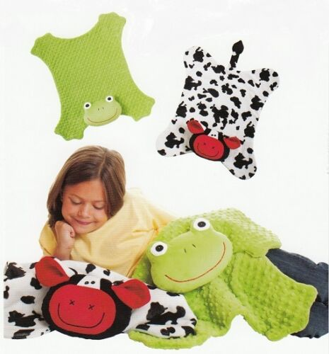 New Quilt Pattern  Baby/'s Favorite Blanket ~ COW /& FROG 21x25