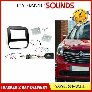 CTKVX38 Double Din Fascia Steering Aerial Fitting Kit For Vauxhall Vivaro 14-18