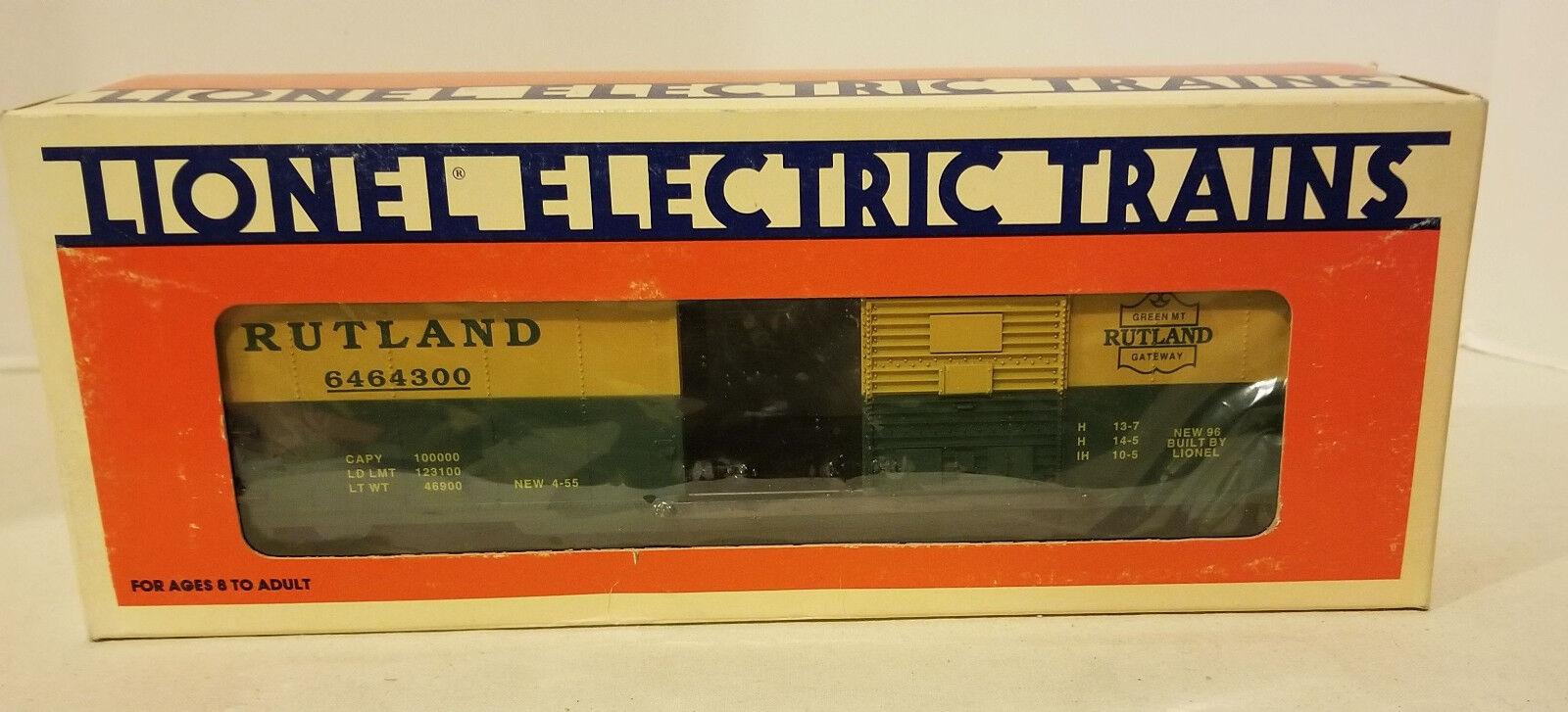 LIONEL RUTLAND BOX CAR 6-19277 - NEW IN BOX