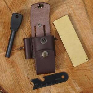 TBS-LEATHER-DC4-and-Firesteel-Belt-Pouch-Choice-of-Colours