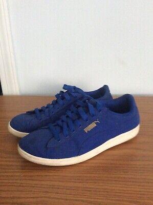 Puma canvas shoes Womens sz 8.5   eBay