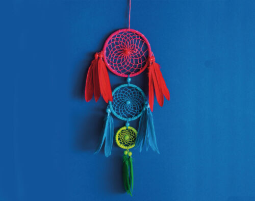 Adults CraftsCraft Kits /& Gifts Kit to Make 3 Ring Bright Dream Catcher
