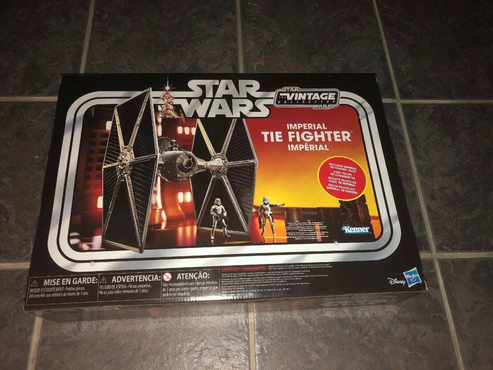 Star Wars (The Vintage Collection) Imperial Tie Fighter  Kenner