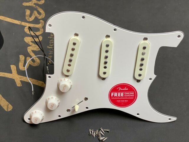 NEW Fender Squier Standard Stratocaster LOADED PICKGUARD