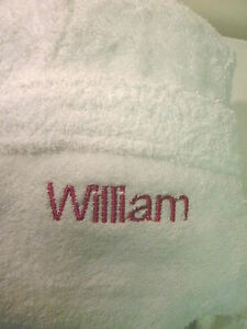 100-Cotton-Towelling-Robe-Embroidered-Personalised-with-a-NAME-of-your-choice