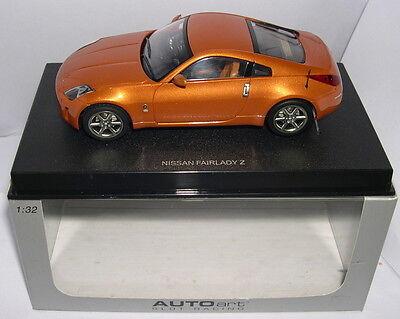 Punctual Autoart 13042 Slot Car Nissan Fairlady Z Orange Mb Novel Design; In