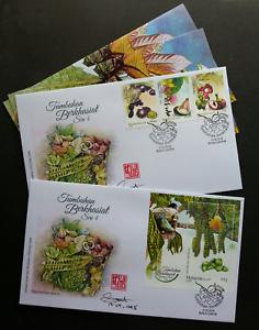 SJ-Malaysia-Medicinal-Plants-IV-2018-Fruits-Food-Flower-Tree-FDC-signed