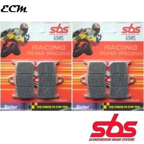 Yamaha YZF 1000 R1 1999 Front Brake Pads SBS 634RS Race Sinter