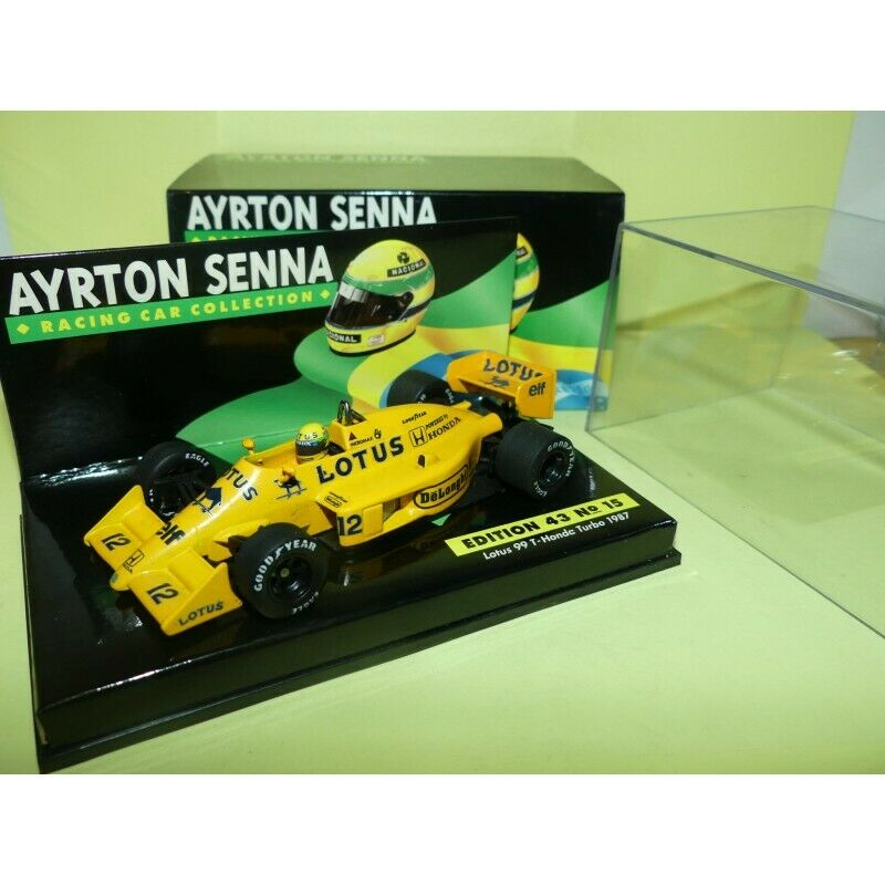 LOTUS  99 T Honda Turbo GP 1987 A SENNA MINICHAMPS 1 43  plus d'ordre