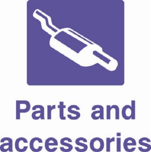 Stickers// Adhesive Rigid PVC Parts and Accessories Garage Signs Waterproof