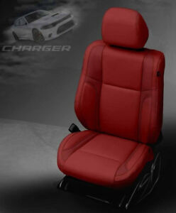 Outstanding Details About 2015 2016 2017 Dodge Charger Sxt Rt Katzkin Leather Seat Covers Kit Cardinal Red Gmtry Best Dining Table And Chair Ideas Images Gmtryco